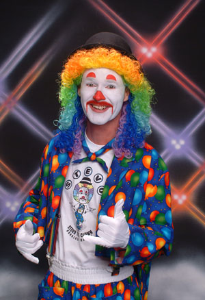 Stevo the Clown bio picture